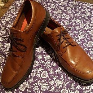 Mens rockport leather shoe